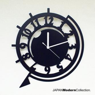 【割引クーポン配布中】壁掛け時計 Solar eclipse Time time 壁掛け デザイナーズ ユニーク 置時計 とけい お洒落 おしゃれ オシャレ インテリア クロック