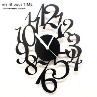 【割引クーポン配布中】時計 mellifluous TIME time 壁掛け デザイナーズ ユニーク 置時計 とけい お洒落 おしゃれ オシャレ インテリア