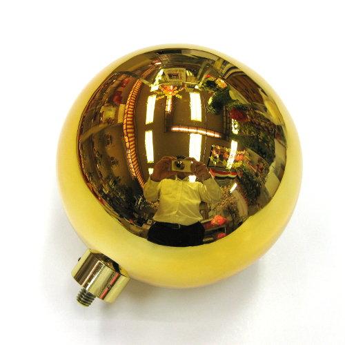 国旗球(金球) 13cm ネジ式 【あす楽対応】