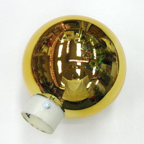 国旗球(金球) 18cm かぶせ/差し込み式