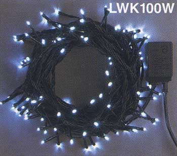 100球LEDライト・ホワイト