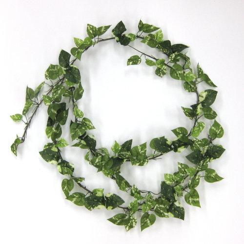 夏の装飾品ディスプレー 造花 送料無料カード決済可能 175cm ミニポトスコード 売り込み