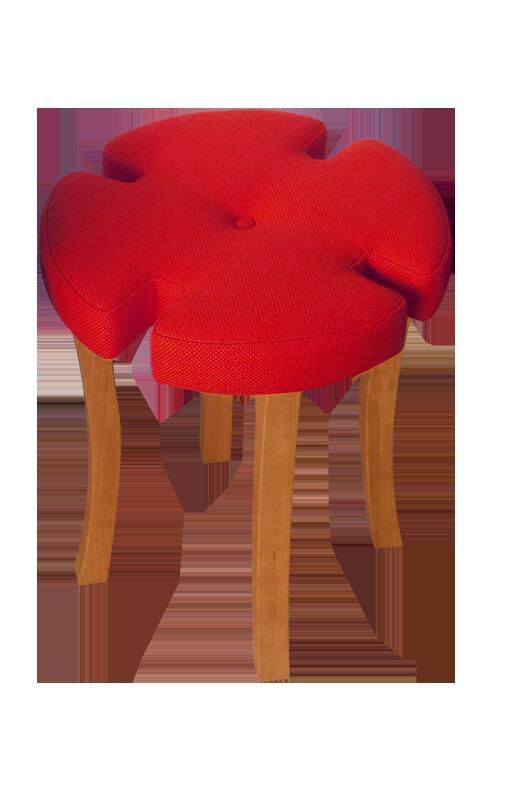 無垢材 天然木 チェリー スツール 直径35cm  高さ42cm 椅子 腰掛 花