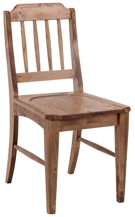 ダイニングチェア 木製チェア デスクチェア 椅子 イス いす チャーチチェア パイン 無垢材 無垢 カフェ風 コンパクト 木製 木 木目 シンプル ナチュラル カントリー ダイニング ブラウン カフェ風 おうちカフェ 05P06Aug16