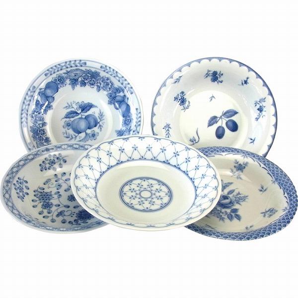 北欧風の絵変わりが楽しめるカレー皿セット 景品 現物 北欧スープ カレー皿5P 高品質 090511 プレゼント 引き出物 専門店 お返し 2021 結婚内祝い