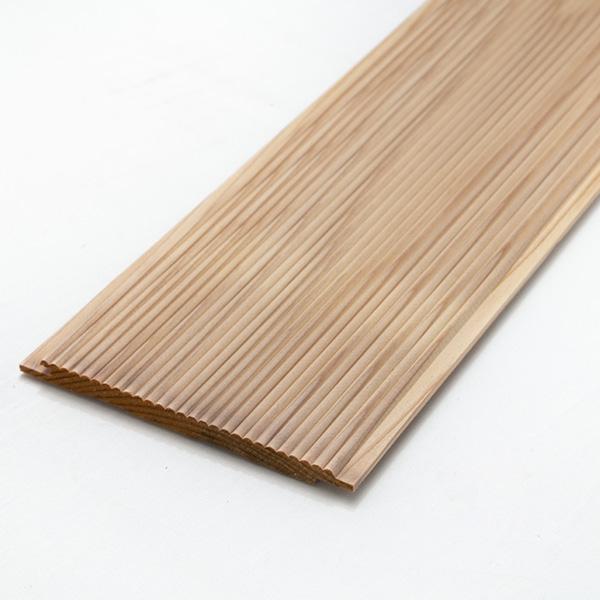 楽天市場】杉 本実リブ加工板 10×130×2000ミリ:DIY木材センター