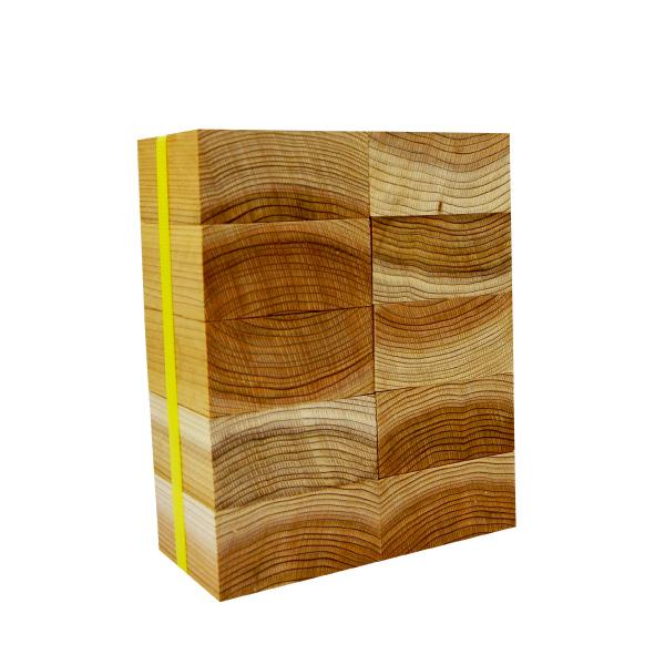 流行のアイテム 天然杉のブロック材 小物製品等に 杉ブロック 厚みx幅x長さ 45mm×90mm×90mm ギフ_包装 10個セット