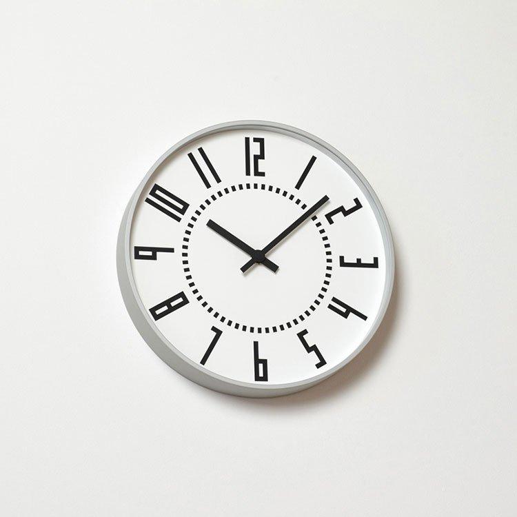 掛け時計 eki clock[エキ クロック] Lemnos[レムノス] TIL16-01【スイープムーブメント スイープセコンド 壁掛け時計 時計 壁掛け ウォールクロック 駅 ビンテージ 北欧 デザイナーズ 五十嵐威暢 かわいい おしゃれ 新生活 新築 出産 新築祝い】