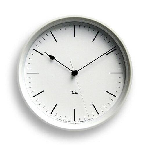 掛け時計 RIKI CLOCK スチールクロック WR08-24 【壁掛け時計 壁 時計 掛時計 クロック ウォールクロック WALLCLOCK インテリア雑貨 デザイン かわいい 可愛い 壁掛け時計 おしゃれ プレゼント 誕生日 新築祝い】