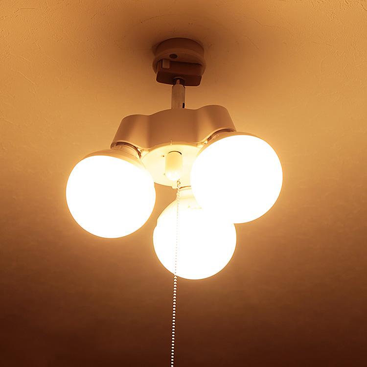 3灯 シンプルソケット 照明 照明器具 天井照明 LED電球 対応 シーリングライト ソケット プルスイッチ 灯具 シンプル DIY ライト ランプ ルームライト 廊下 おしゃれ トイレ ペンダントライト BBA-004 寝室 シーリング 新生活 コンパクト 18%OFF 電気 ペンダント 階段 クローゼット 玄関