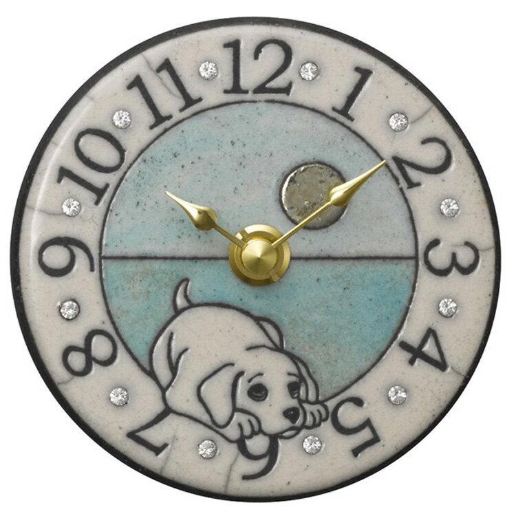 掛け時計 ザッカレラZ908【置き時計 置時計 掛け置き両用 卓上 時計 おしゃれ 壁掛け時計 イタリア 陶器 アンティーク レトロ モダン アート リズム時計 手作り ハンドメイド ヨーロピアン インテリア ウォールクロック 壁時計 オシャレ置き時計 新生活】