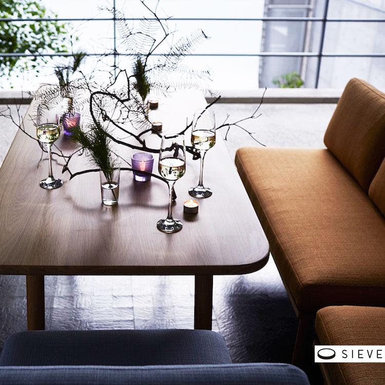 <title>SIEVE fluff dining table SVE-DT005M テーブル ダイニングテーブル 机 リビング ダイニング 木 木製 ブラウン ナチュラル シンプル モダン 北欧 家具 新生活 メーカー直送品 シーヴ フラッフ Mサイズ メーカー直売 おしゃれ家具 かわいい 可愛い</title>
