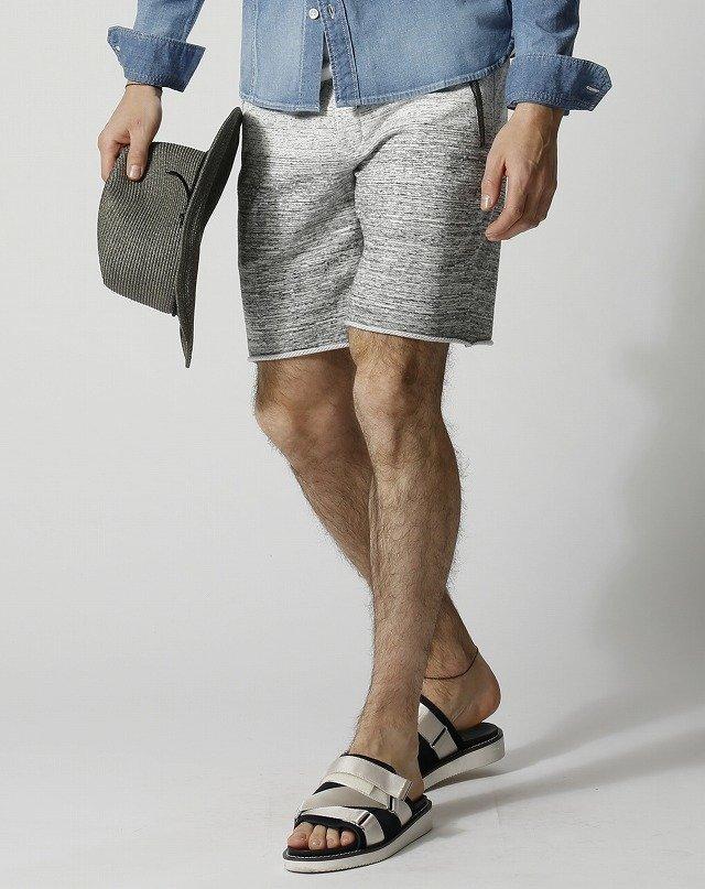【エントリーでポイントアップ!】【セール40%OFF】【送料無料】【wjk】【2018SA】5873 mj60j gradation cut-off shorts [91/l.gray] 【公式通販】