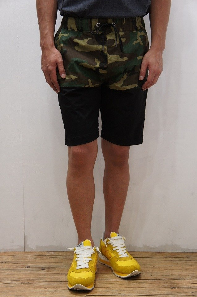 【エントリーでポイントアップ!】【セール40%OFF】【送料無料】【junhashimoto】【ジュンハシモト】【2018SS】1071810027 CONTRASTLOOK PANTS [CAMO] 【正規通販】