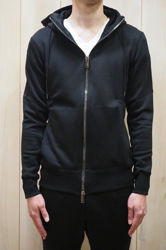 20%OFFクーポン メンズ junhashimoto ジュンハシモト 1101920001S HIGH NECK ZIP PARKA & SKINNY JERSEY PANTS セットアップ [BLACK] 正規通販 8月入荷予定
