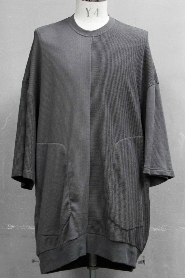 JULIUS ユリウス 687CUM6 2 FACE OS T-SHIRT 2フェイス Tシャツ [MUD KHAKI] 正規通販 メンズ 11月入荷予定