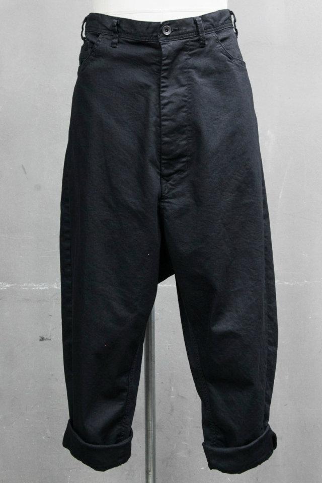 JULIUS ユリウス 687PAM11 LOW CROTCH BAGGY PANTS ロークロッチバギーパンツ [BLACK] 正規通販 メンズ 11月入荷予定