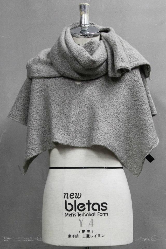 JULIUS ユリウス 687STU1 STOLE ストール [GREIGE] 正規通販 メンズ 10月入荷予定