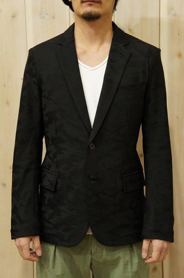 メンズ junhashimoto ジュンハシモト 1030000006 JERSEY JACKET ジャージージャケット [BLACK] 正規通販