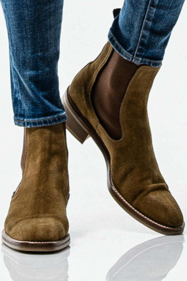 メンズ RESOUND CLOTHING リサウンドクロージング RC-BASIC-BOOTS1 SLAP サイドゴアブーツ [BEIGE] 公式通販