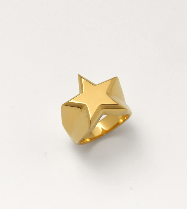 20%OFFクーポン 【公式通販】IVXLCDM アイブイエックスエルシーディーエムIVX-R883 STAR PINKY RING [GOLD] 【リング】【ピンキーリング】【送料無料】