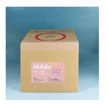 循環式浴槽水・プール除菌洗浄剤モルキラーMZ 5リットル入り。業務用は塩素と併用して使用可能です。