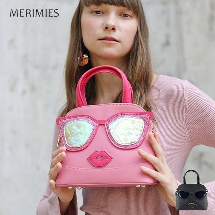 タイ生まれキュートなバッグ「merimies(メリミス)」が日本初上陸! pow pow ショルダーバッグ レディース 2way ストラップ メリミス サングラス かわいい 旅行 斜め掛け 肩掛け 誕生日 バレンタインデー ホワイトデー
