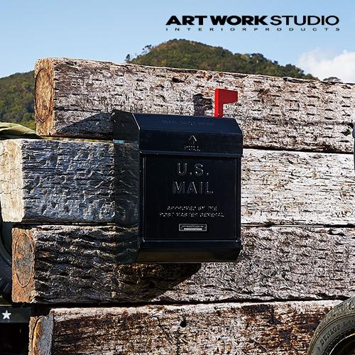 【全8色】ARTWORKSTUDIO(アートワークスタジオ):U.S. Mail box2 文字あり(ユーエスメールボックス2:縦型・キーレス)スチール/レトロ/メールボックス/新居祝い/新築祝い/DIY/ガーデニング/鍵付き/郵便ポスト/郵便受け/ポスト/送料無料/TK-2078