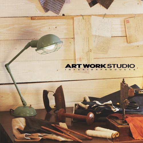 【在庫限り】【全3色】ARTWORKSTUDIO(アートワークスタジオ):Bronx-desk lamp(ブロンクスデスクランプ)LED電球/蛍光球対応/照明/間接照明/デスクライト/ライト/テーブルランプ/卓上照明/スチール/ビンテージ/レトロ/インテリア/送料無料/AW-0348