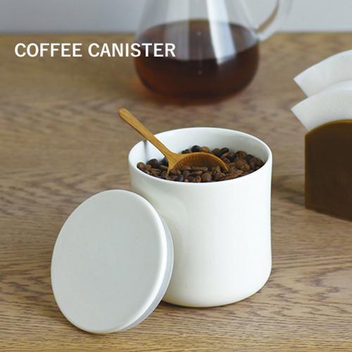 KINTO 約200gのコーヒー豆が入る磁器製のキャニスター 袋のままでも入る口径が広いデザインです キントー:コーヒーキャニスター 安い 激安 プチプラ 高品質 600mlコーヒー COFFEE LIFE STYLE SLOW プレゼント SALENEW大人気! キントー ギフト コーヒーを保存する