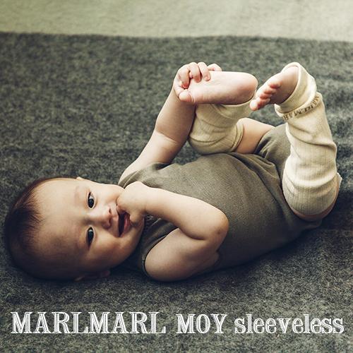 MARLMARL 装飾を極限まで削ぎ落とした ミニマルな肌着 縫い目がなく 売り出し 赤ちゃんへの肌あたりが優しい立体的なホールガーメントニットです 日本製 全3色 マールマール:オーガニック肌着 MOY 日本未発売 sleeveless モイ スリーブレス オーガニックコットン ベビー服 出産祝い ギフト ロンパース 専用ケース入り 肌着 送料無料 プレゼント ベビー ラッピング.メッセージ無料