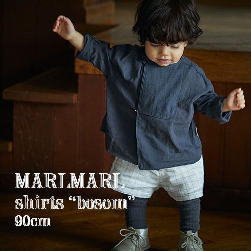 MARLMARL フォーマルなブザムシャツにカジュアル要素を加えた バランス感が秀逸な3wayシャツ お子さまの成長に合わせて袖をロールアップし 長く着られるアイテムです 新作 全3色 90cm マールマール:シャツ bosom ブザム ラッピング.メッセージ無料 3way ギフト 安心の定価販売 ブラウス 5☆好評 プレゼント 出産祝い ブザムシャツ ベビー キッズ ジャカード生地 送料無料 シャツ 誕生日祝い