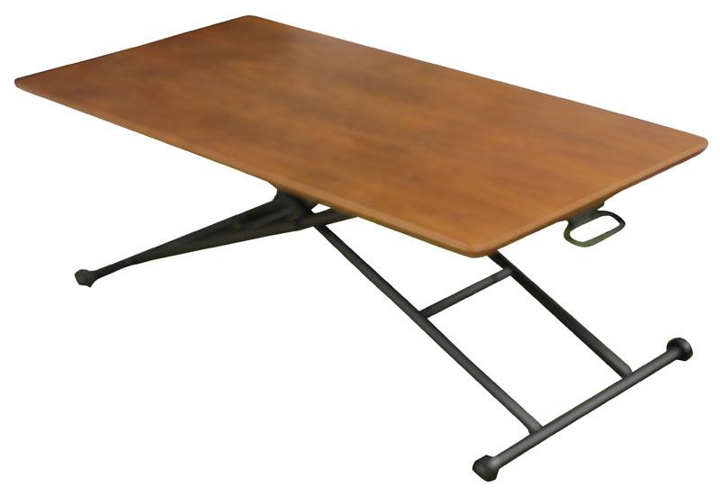 送料無料 リフティングテーブル ブルーナ Buruna 120cm