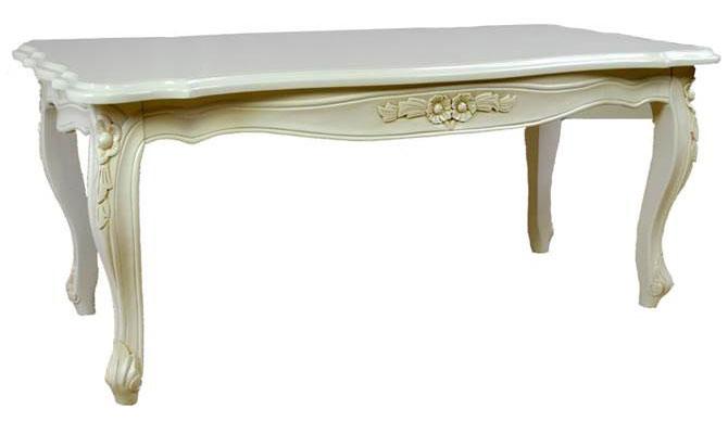 送料無料 センターテーブル ジェノバ Genova 105cm ホワイト色
