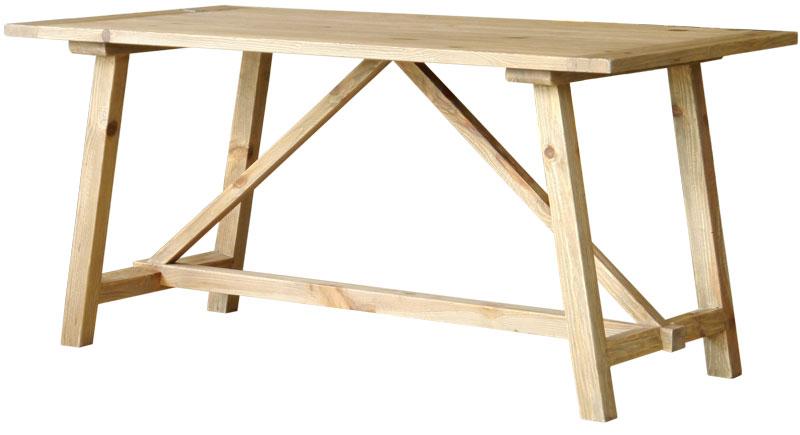 送料無料 パイン材 ヴィンテージ家具 古材 テーブル 送料無料 MOSH/モッシュ 160ダイニングテーブル 「Bian/ビアン」