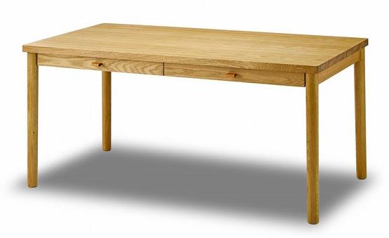 NOWHERE LIKE HOME 150ダイニングテーブル 「Bakken/バッケン」 オーク色