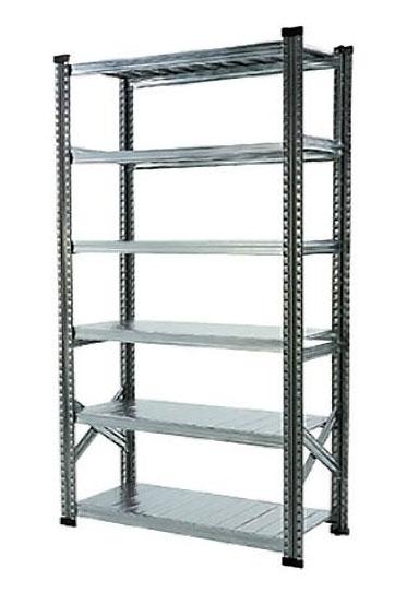 6段スチールシェルフ幅120cm 「METALSISTEM/メタルシステム」