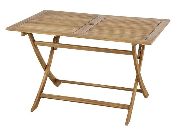 【送料無料・テーブル・折りたたみ・ガーデンテーブル】 120折りたたみテーブル 「Nino/二ノ」