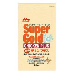 森乳サンワールドスーパーゴールド チキンプラス成犬用2.4kg×2
