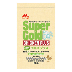 森乳サンワールドスーパーゴールド チキンプラスシニア犬用800g×4