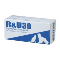 R&U30 100粒共立製薬 犬猫用 牛越生理学研究所 皮膚 脱毛 健康補助食品 送料無料