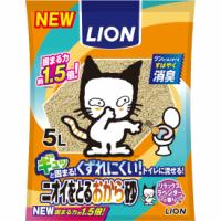 LIONニオイをとるおから砂 5L×10(他商品と同梱不可)