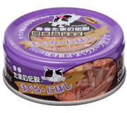 三洋食品株式会社プリンピア 食通たまの伝説 まぐろ・にぼし  80g×48缶