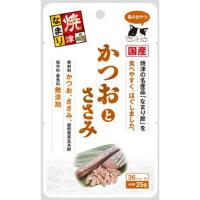 三洋食品株式会社焼津なまり かつおとささみ 25g×48