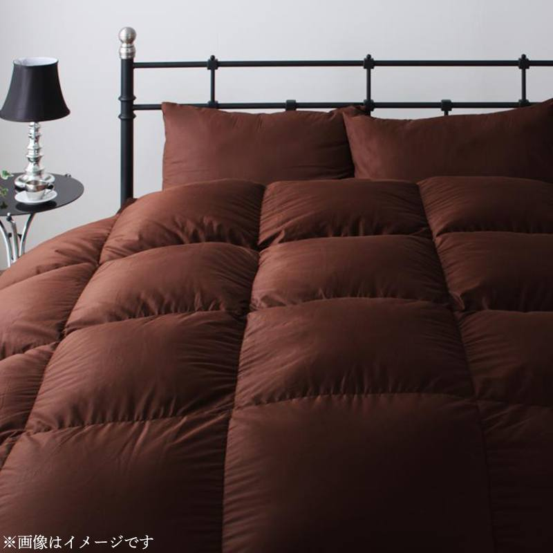 日本製ウクライナ産グースダウン93% ロイヤルゴールドラベル羽毛布団8点セット 【Bloom】ブルーム 和タイプ シングル