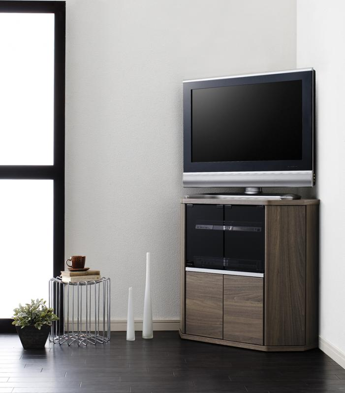 薄型コーナーロータイプテレビボード【Venus】ベヌス ミドルタイプ