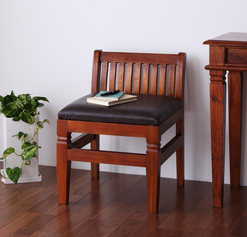 【キャッシュレス5%還元】アンティーク調アジアン家具シリーズ RADOM ラドム チェア 1脚