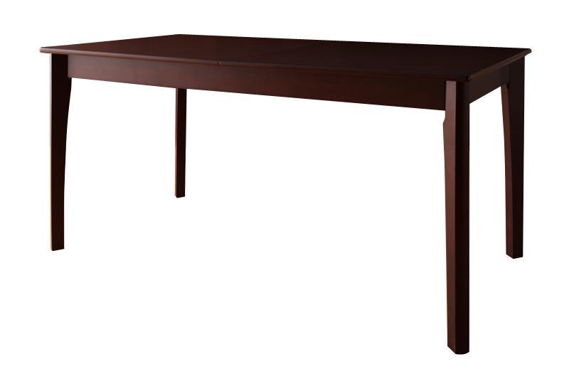 【キャッシュレス5%還元】回転チェア付き 北欧デザインエクステンションダイニング Foret フォーレ ダイニングテーブル W150-200