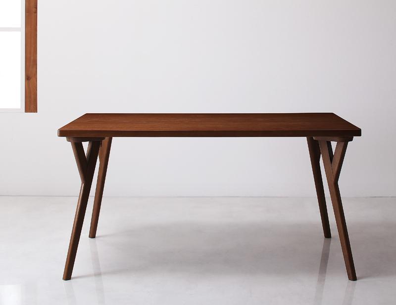 【キャッシュレス5%還元】北欧モダンデザインダイニング VILLON ヴィヨン ダイニングテーブル W140