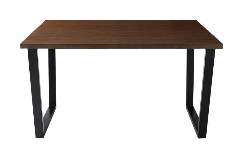 【キャッシュレス5%還元】天然木ウォールナットモダンデザインダイニング Wyrd ヴィールド ダイニングテーブル W120